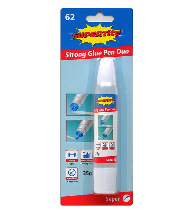1162 DUAL TIP MAX-GLUE PEN 35g (Kid Safe/Office Strong) 1 PC